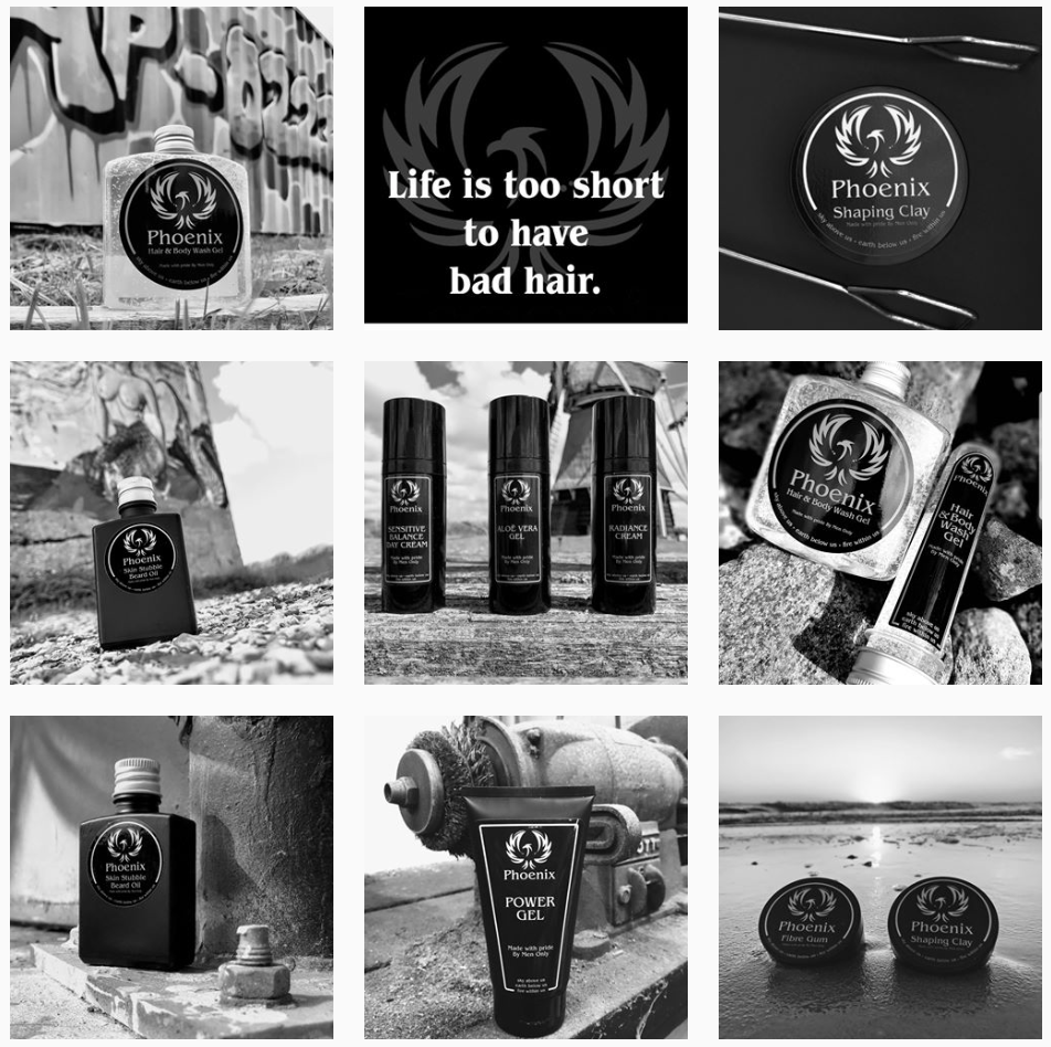 Instagram feed PhoenixHairProducts 01