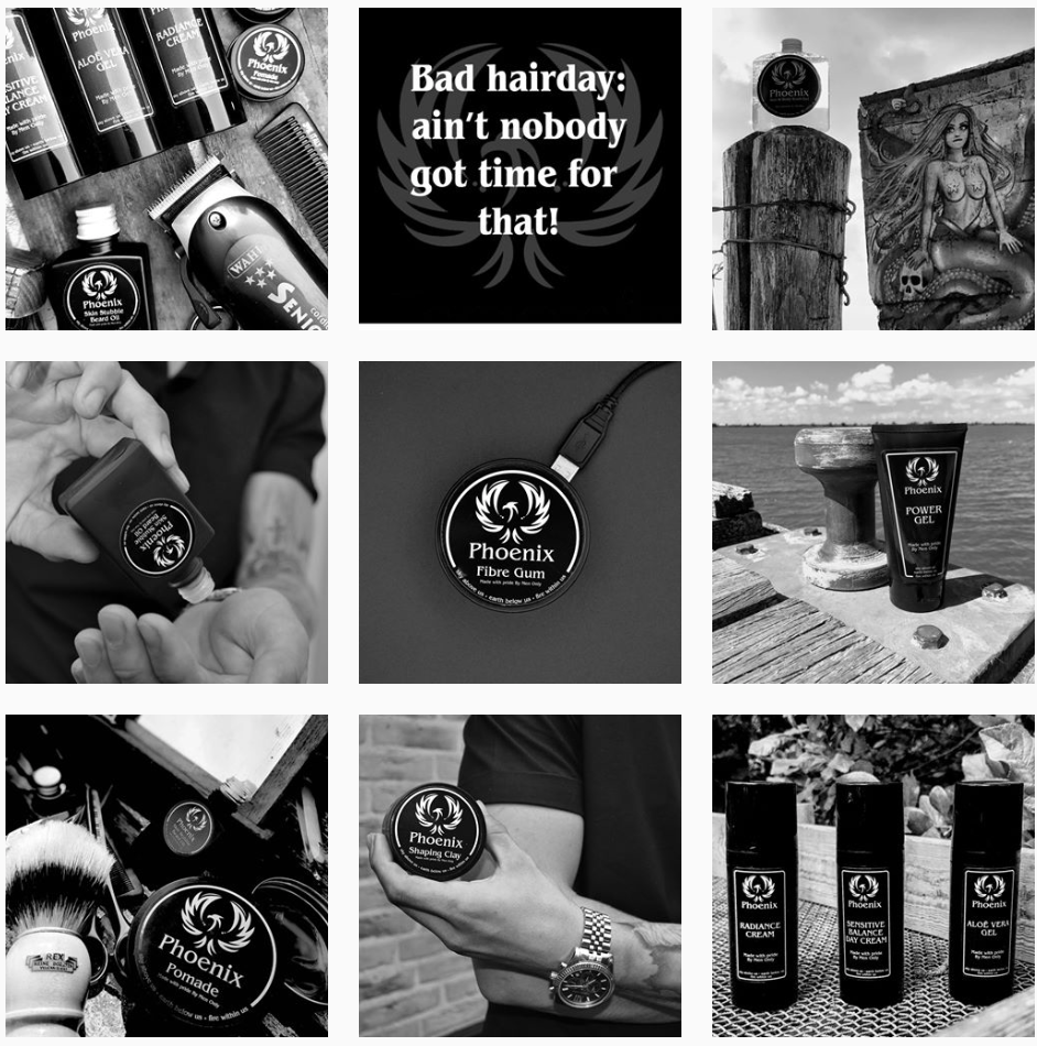 Instagram feed PhoenixHairProducts