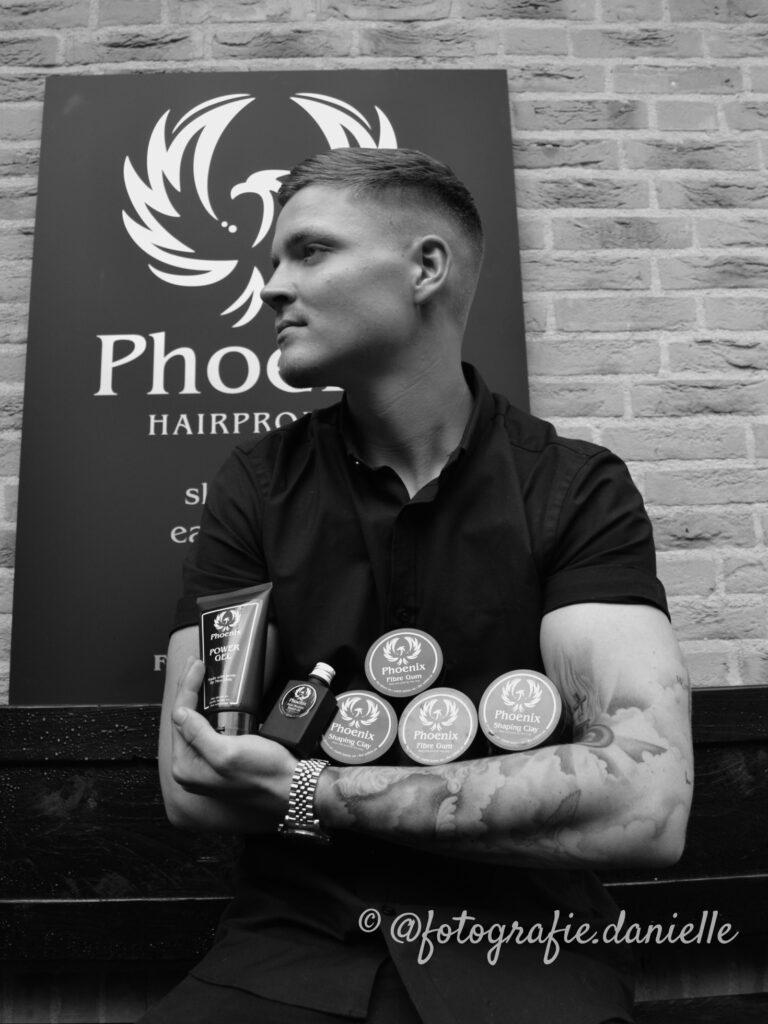 model Rick voor Phoenix Hair Products ©fotografie Daniëlle van der Ploeg7